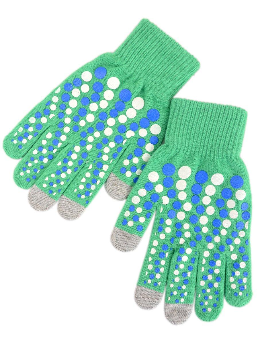 Рукавички зелені сенсорні | 3909489