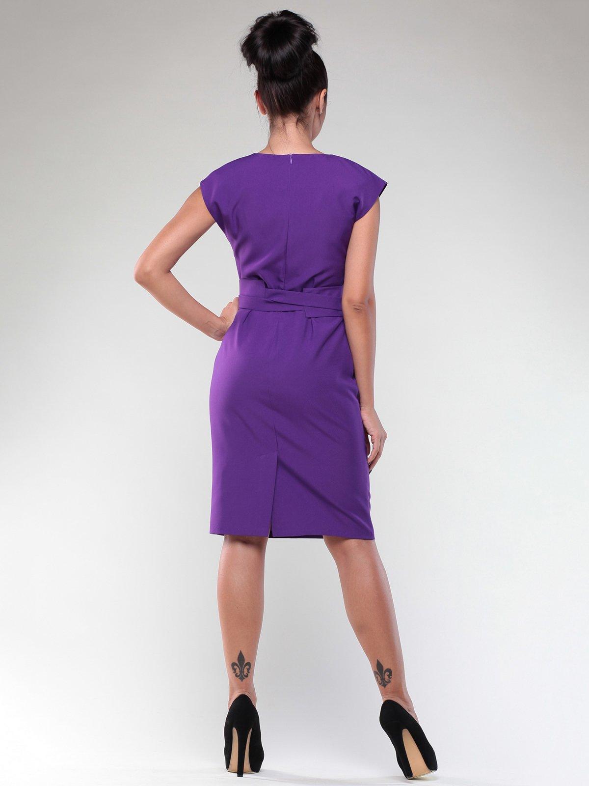 Платье фиалкового цвета | 1969909 | фото 5