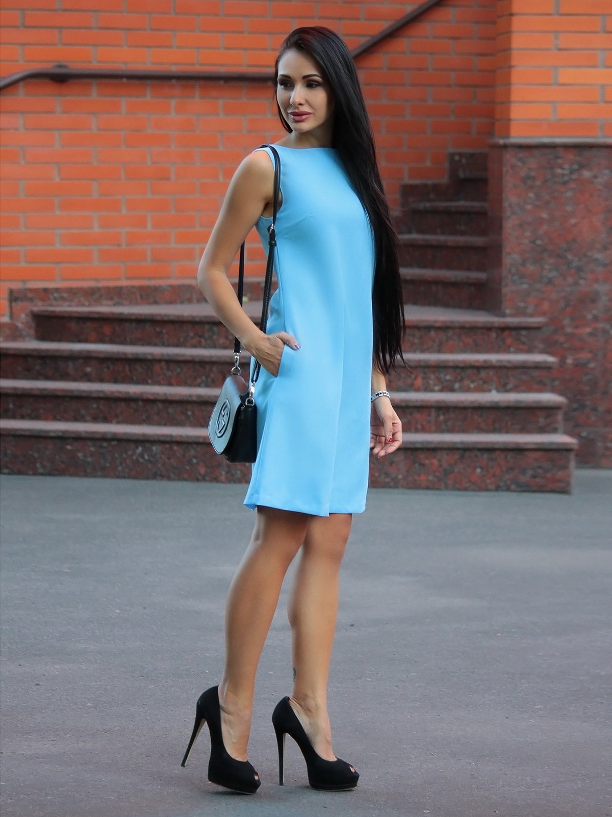 Сукня блакитна | 2375113