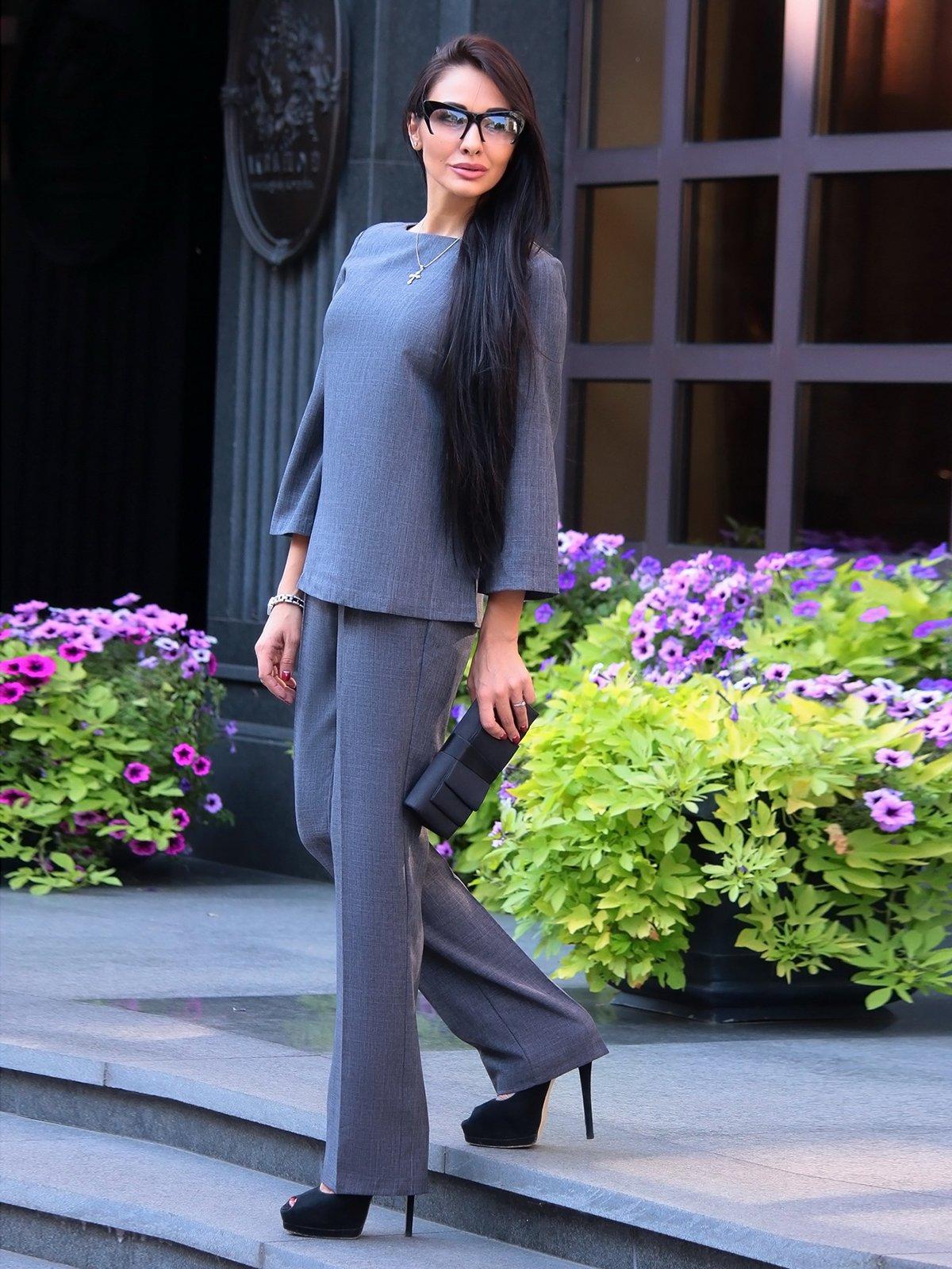 Костюм: блуза і штани   2387828