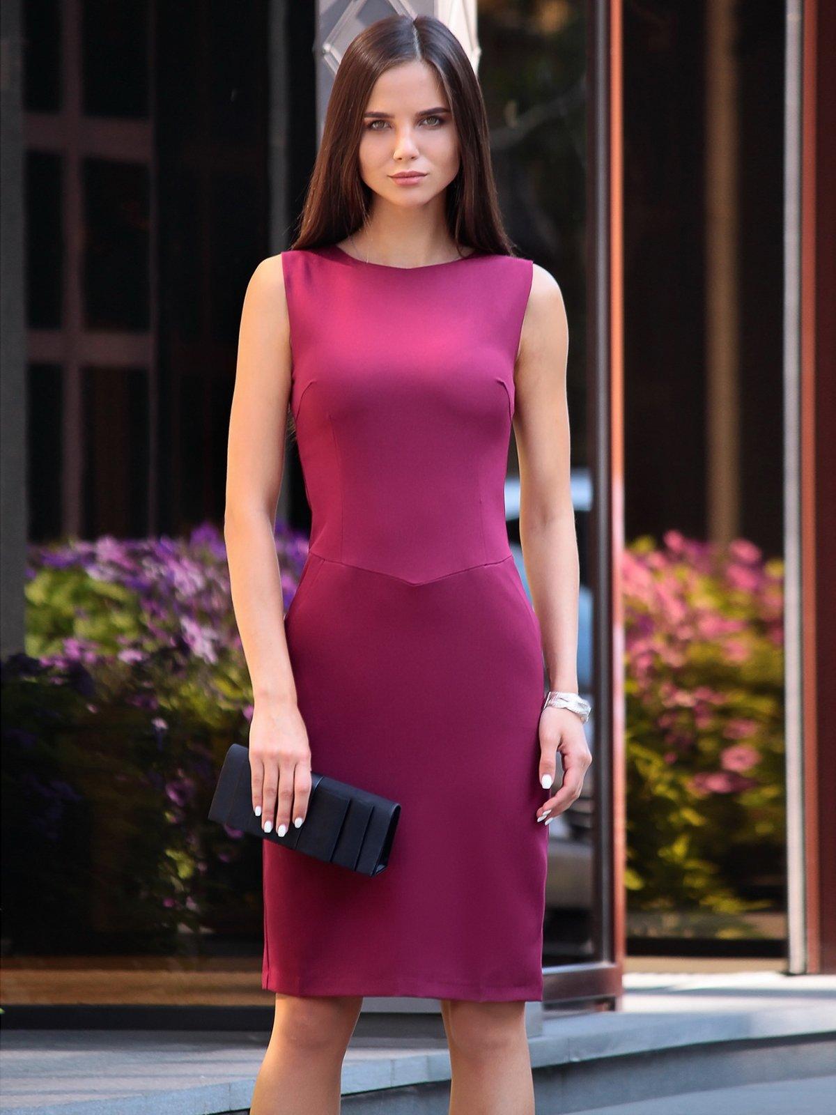 Платье сливового цвета | 2416590