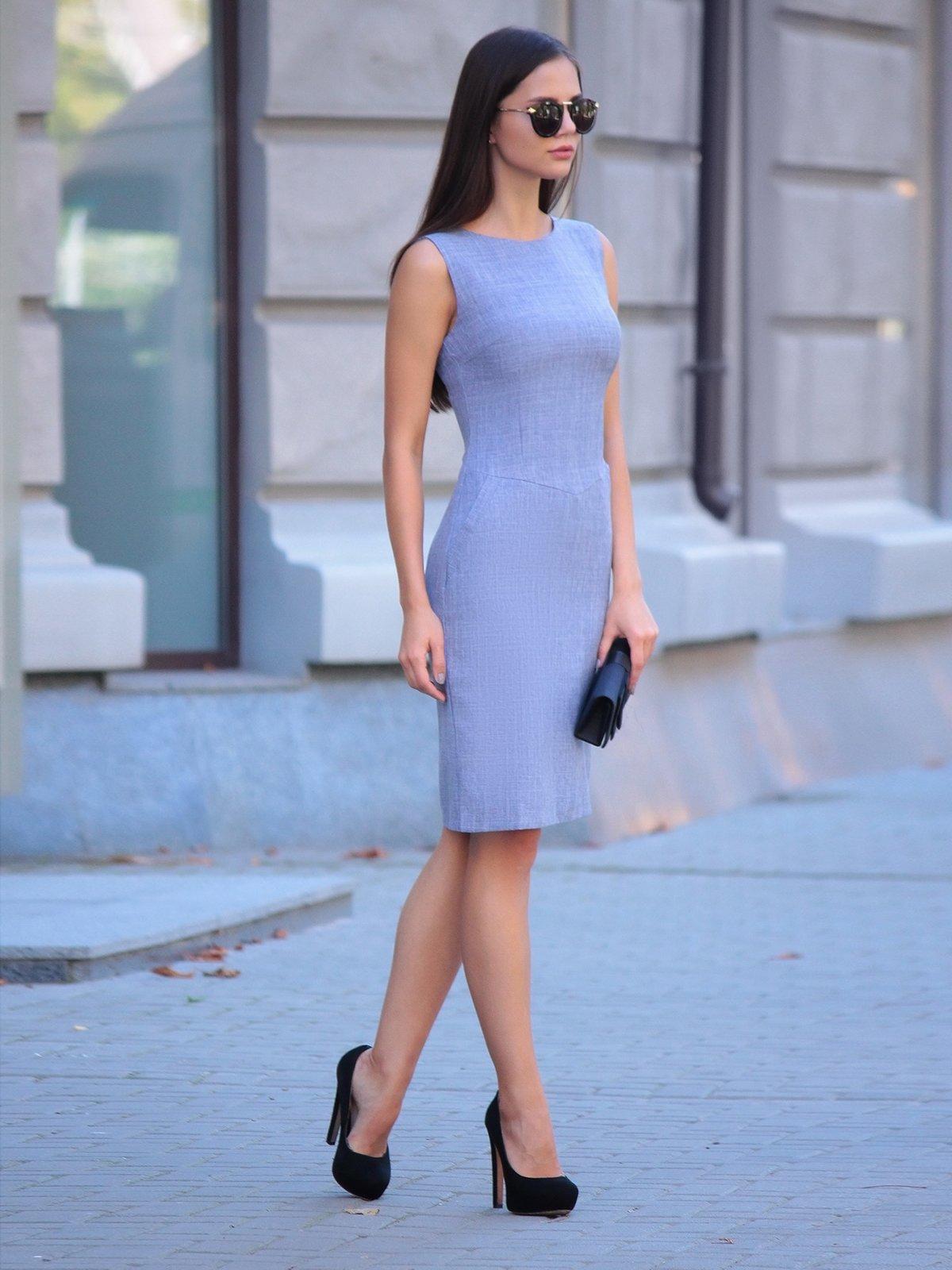 Платье цвета фиолетовой дымки | 2434431