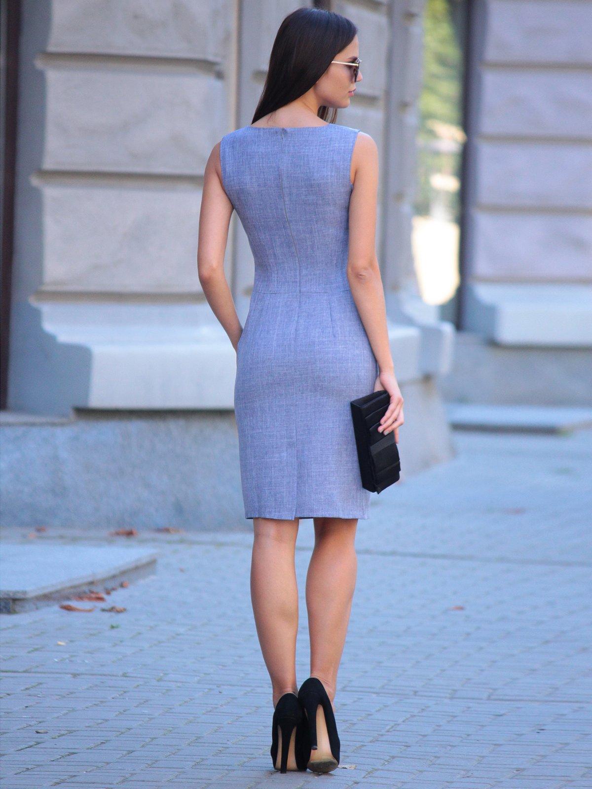 Платье цвета фиолетовой дымки | 2434431 | фото 2