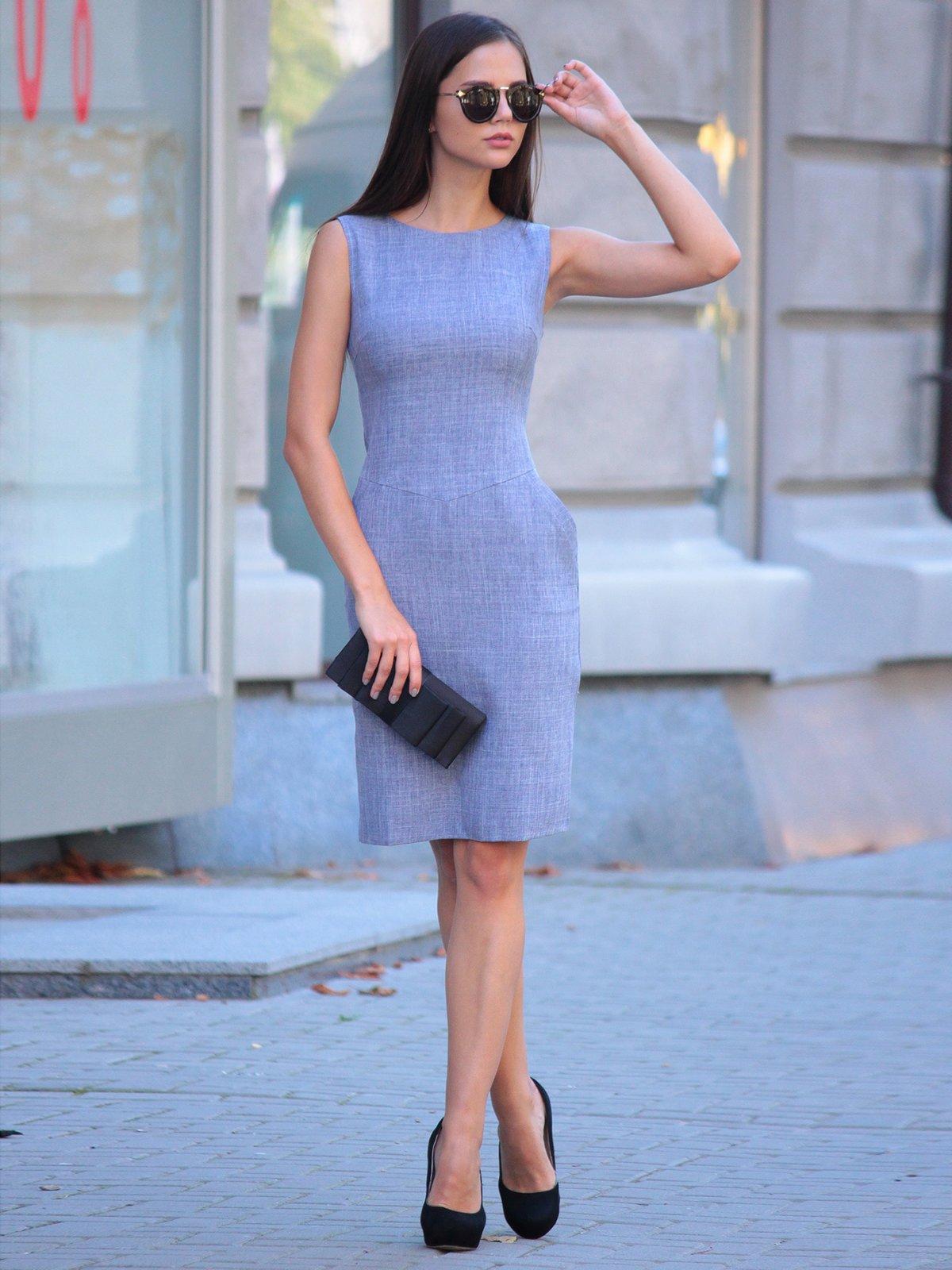 Платье цвета фиолетовой дымки | 2434431 | фото 4