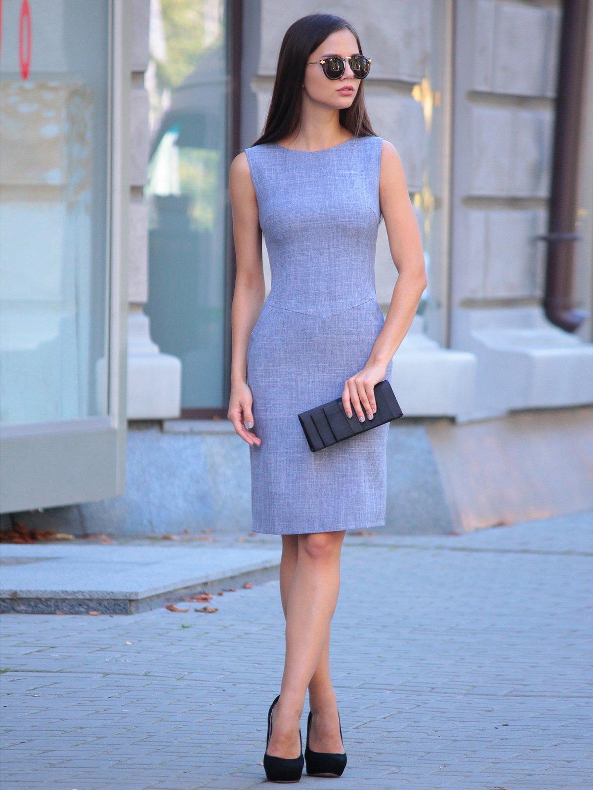Платье цвета фиолетовой дымки | 2434431 | фото 5