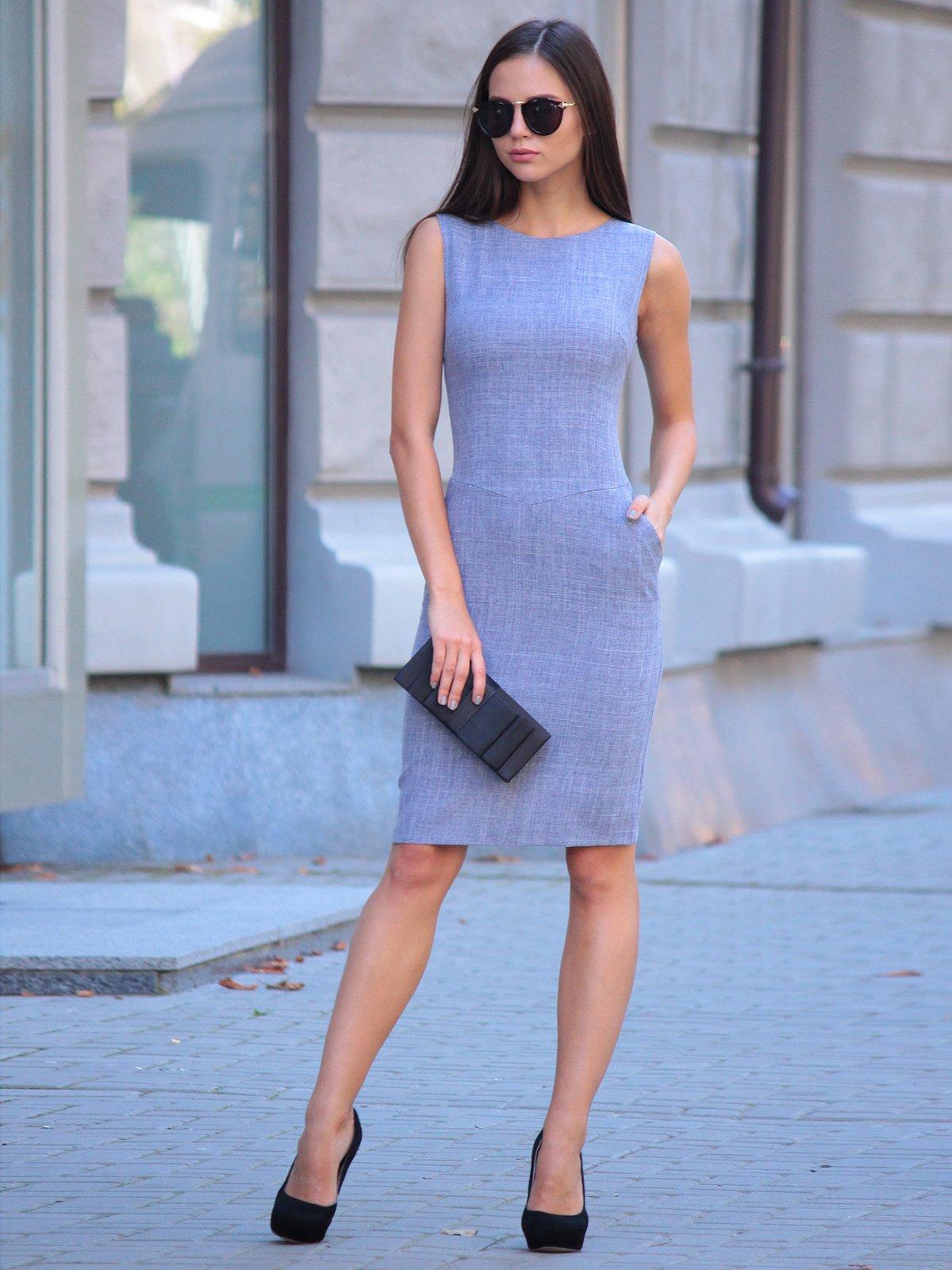 Платье цвета фиолетовой дымки | 2434431 | фото 6