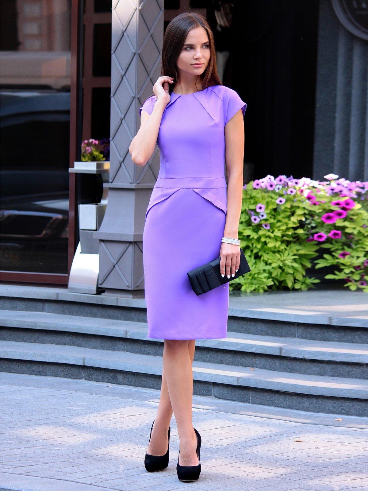 Платье светло-фиалковое | 2601662