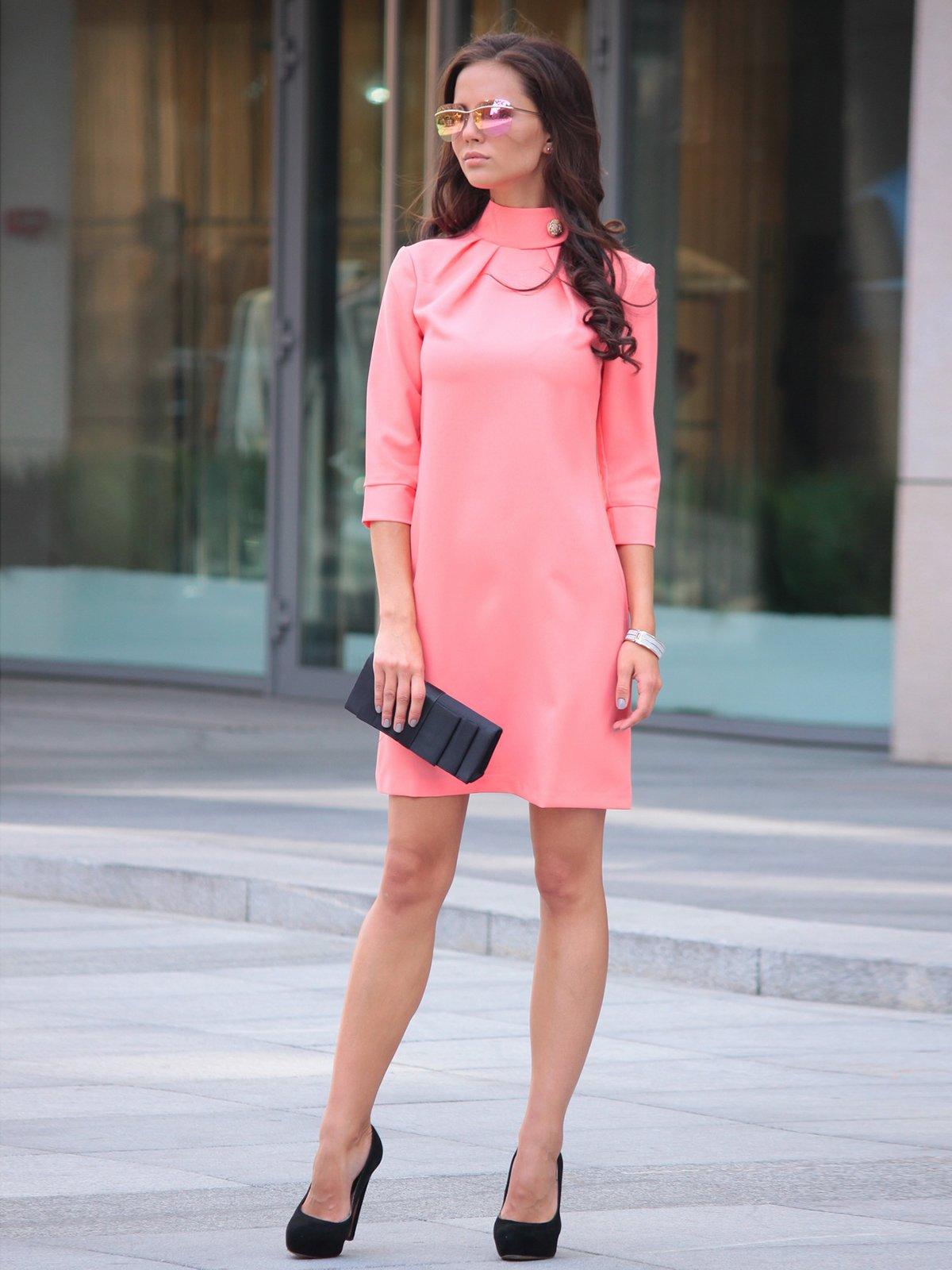 Платье темно-персиковое | 2679868 | фото 3