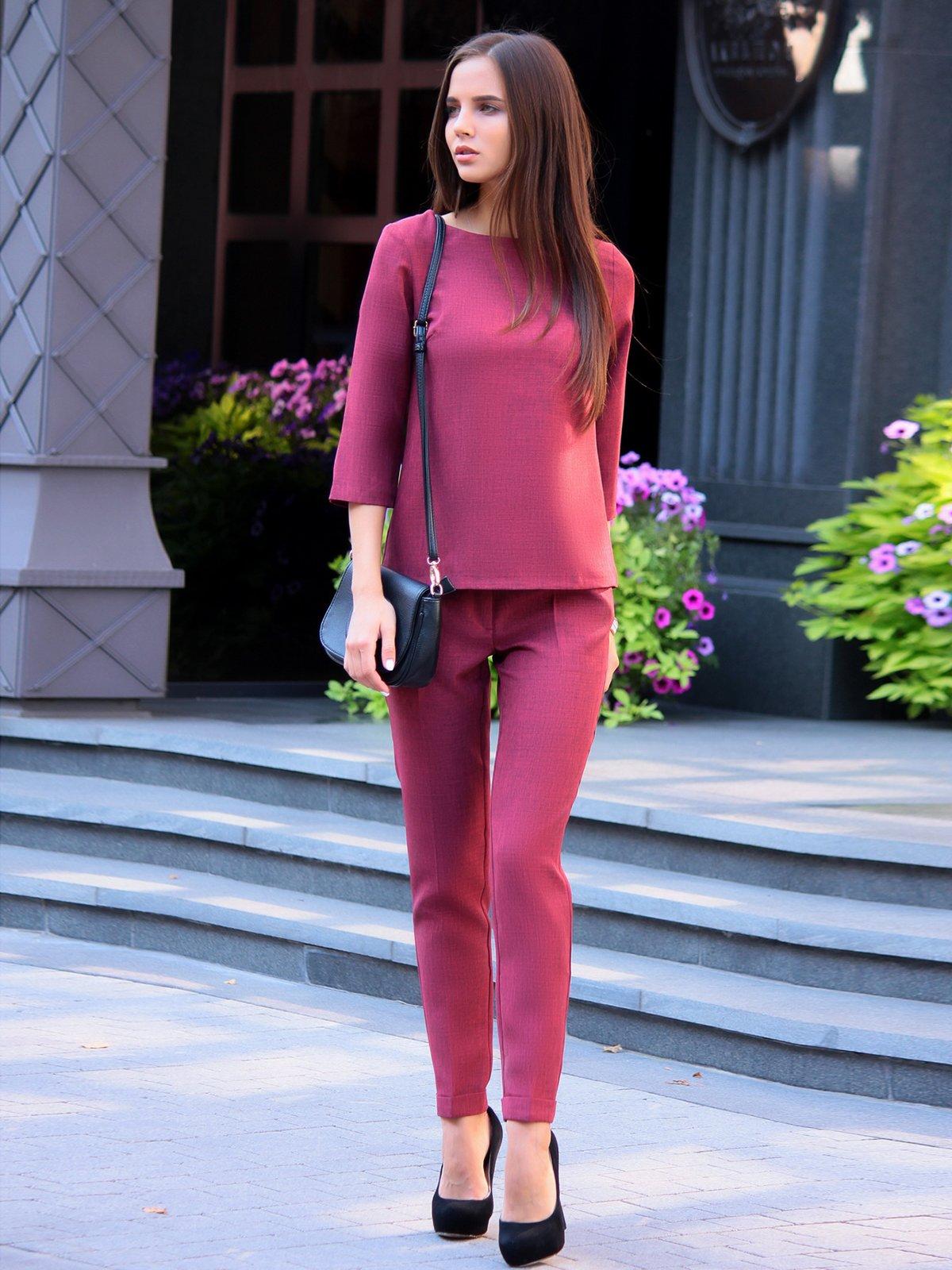 Костюм: блуза и брюки | 3091006