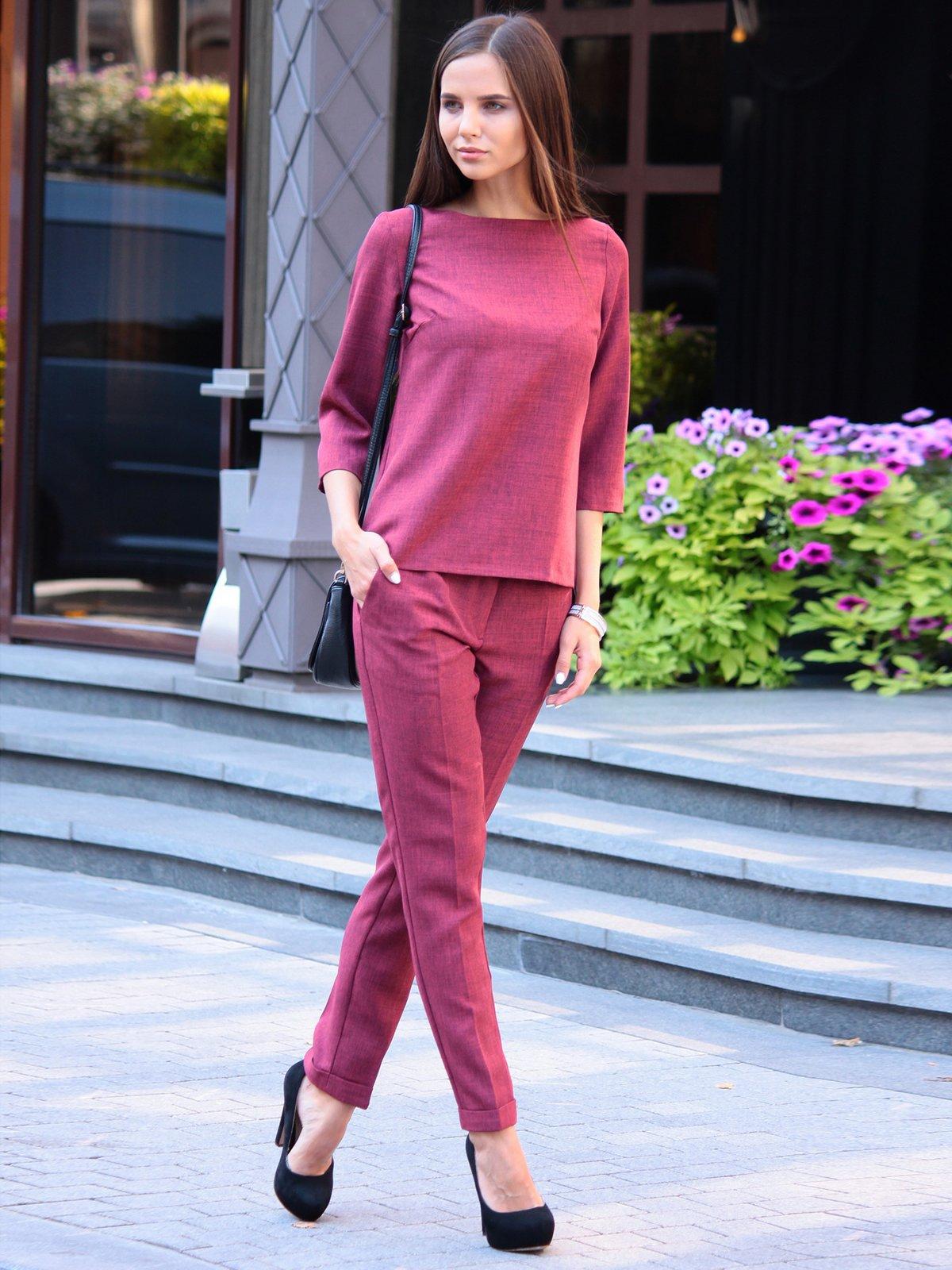 Костюм: блуза и брюки | 3091006 | фото 2