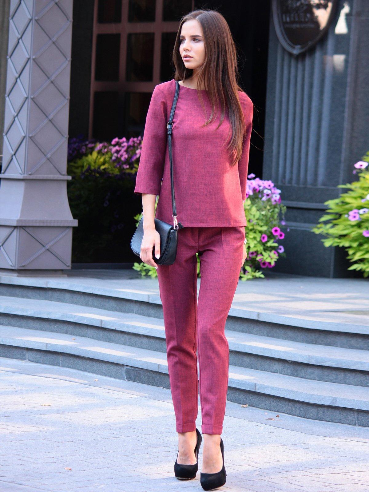 Костюм: блуза и брюки | 3091006 | фото 3
