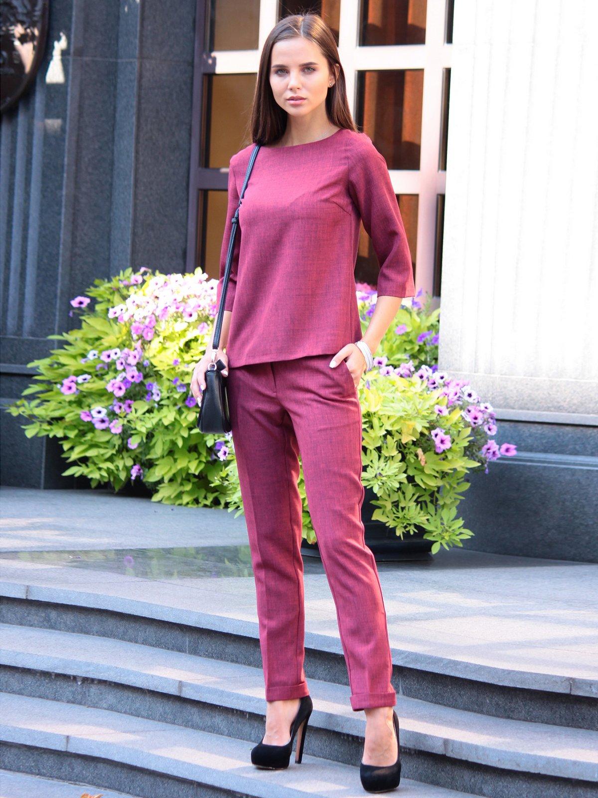 Костюм: блуза и брюки | 3091006 | фото 4