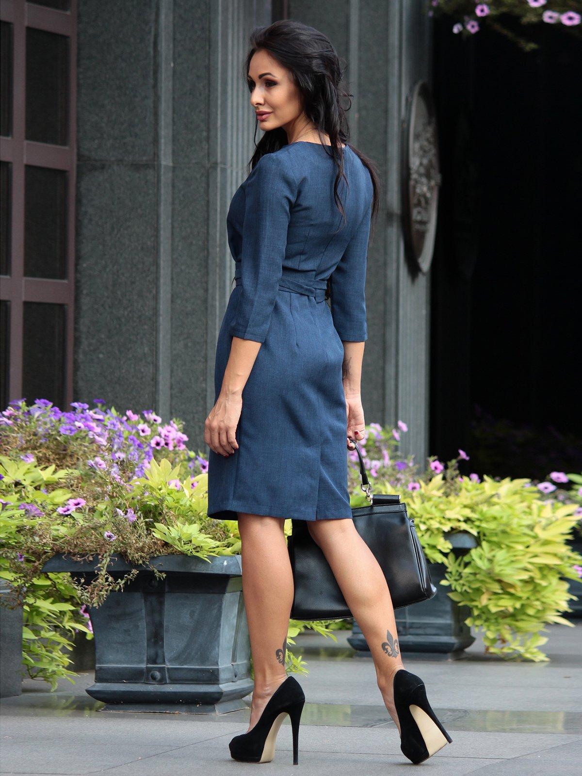 Сукня темно-синя | 3160449