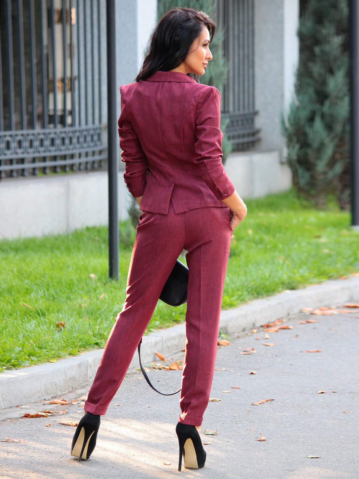 Костюм: жакет и брюки | 3258180 | фото 2