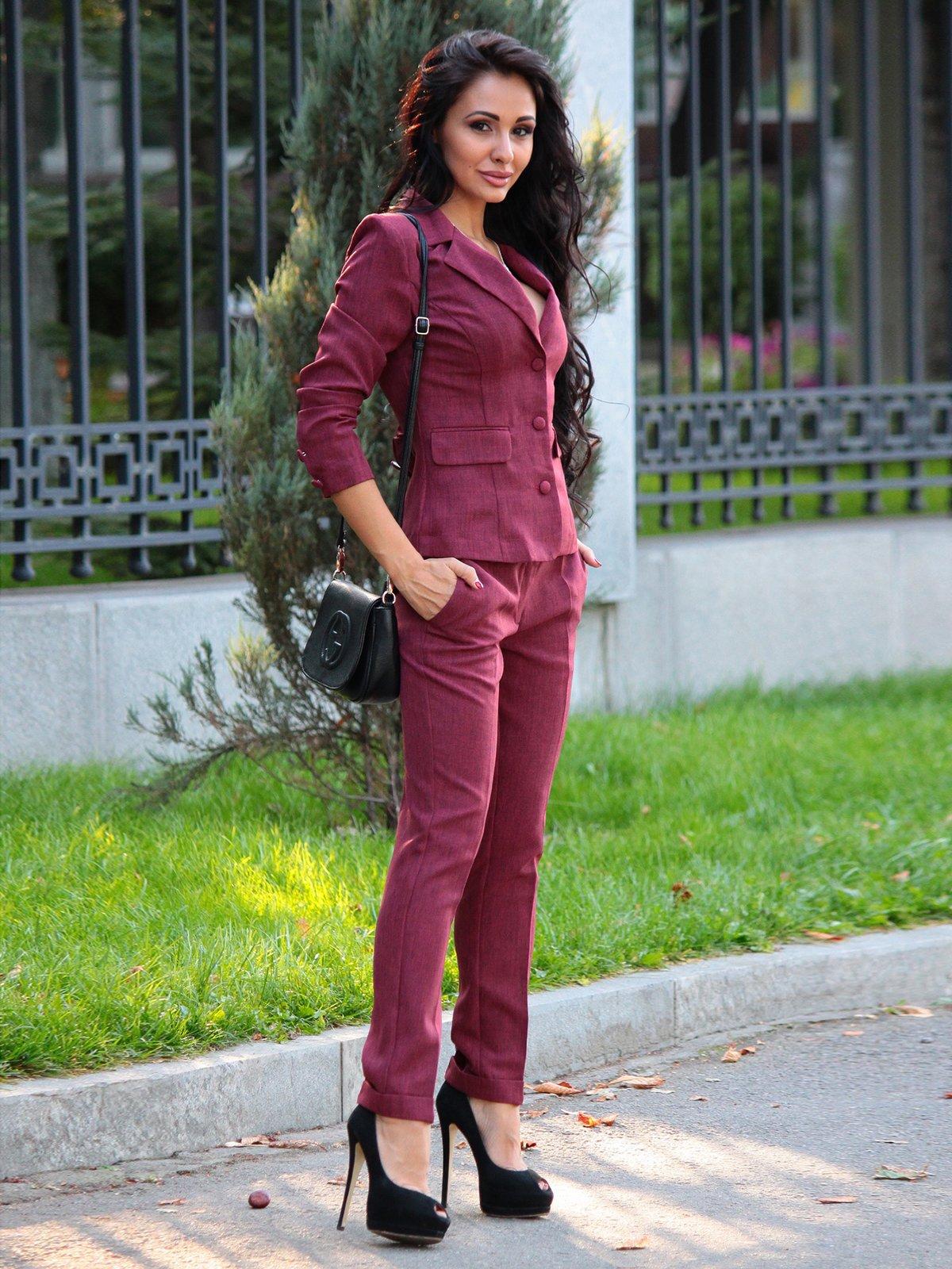 Костюм: жакет и брюки | 3258180 | фото 5