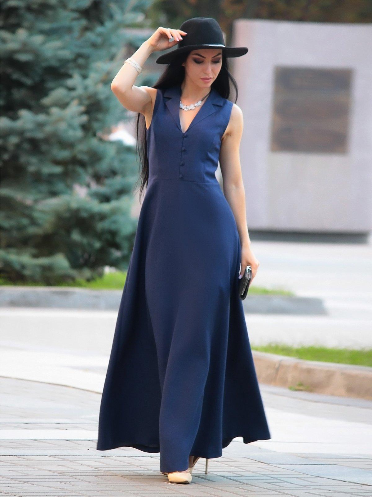 Сукня темно-синя | 3347701