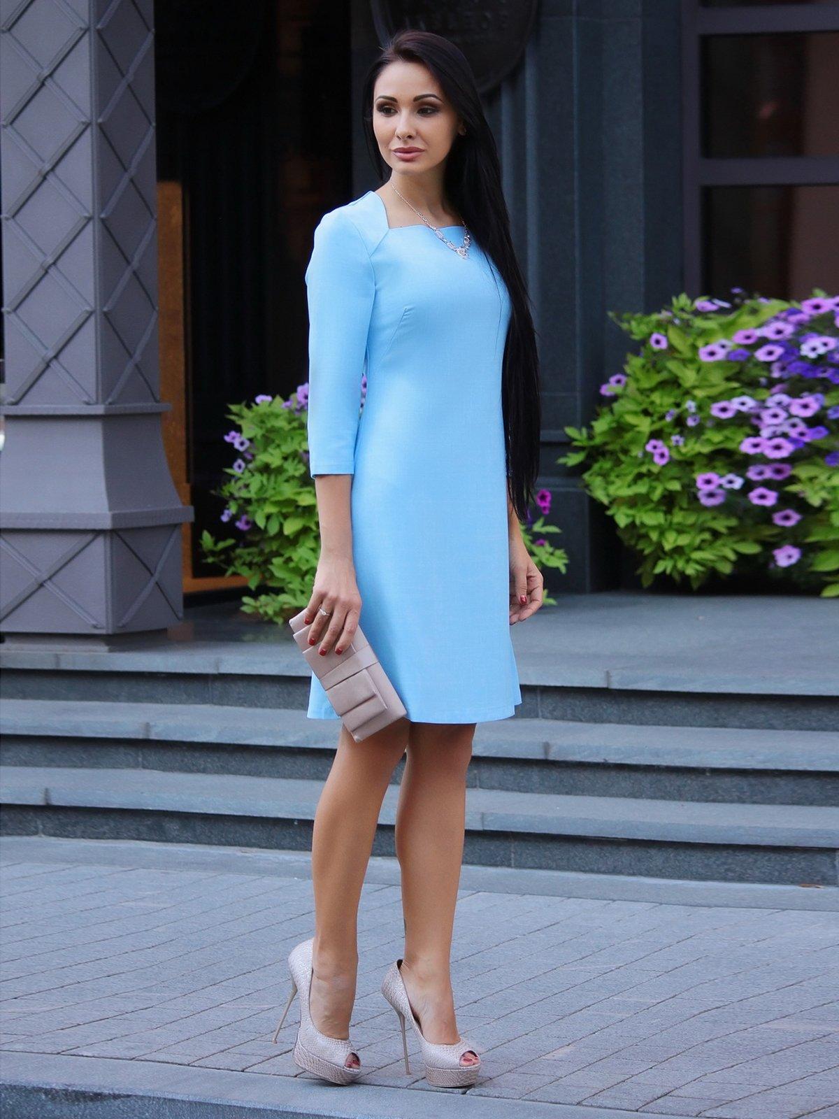 Сукня блакитна   3478781