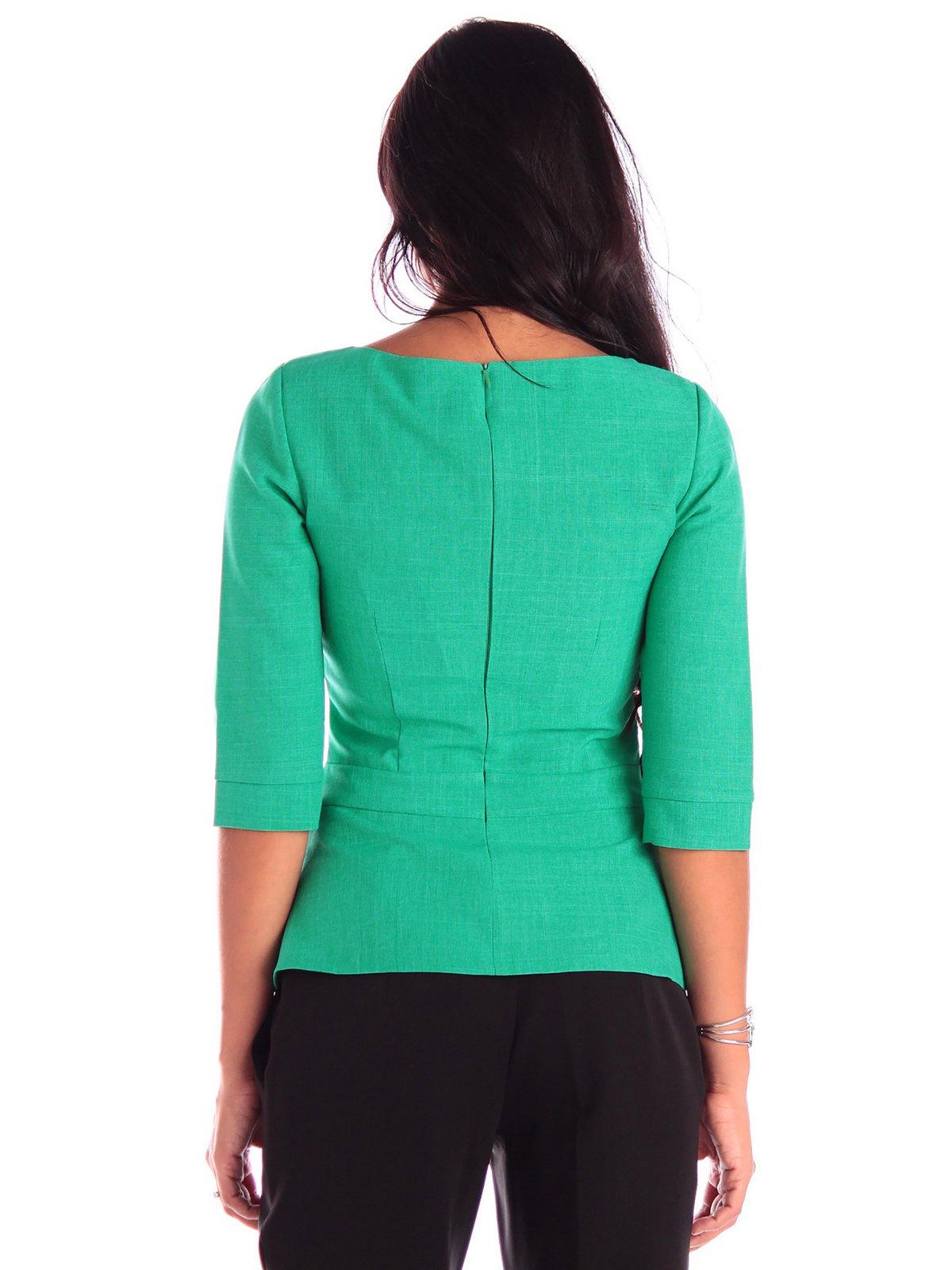Блуза зеленая | 3503897 | фото 5