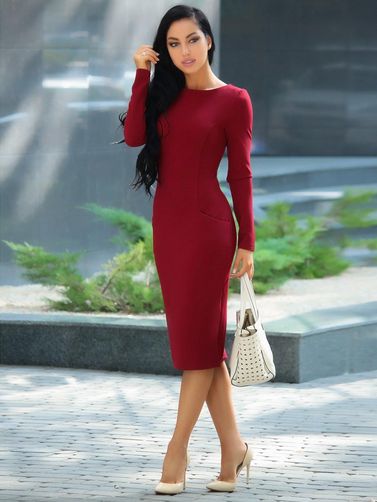 Сукня сливового кольору   3608757