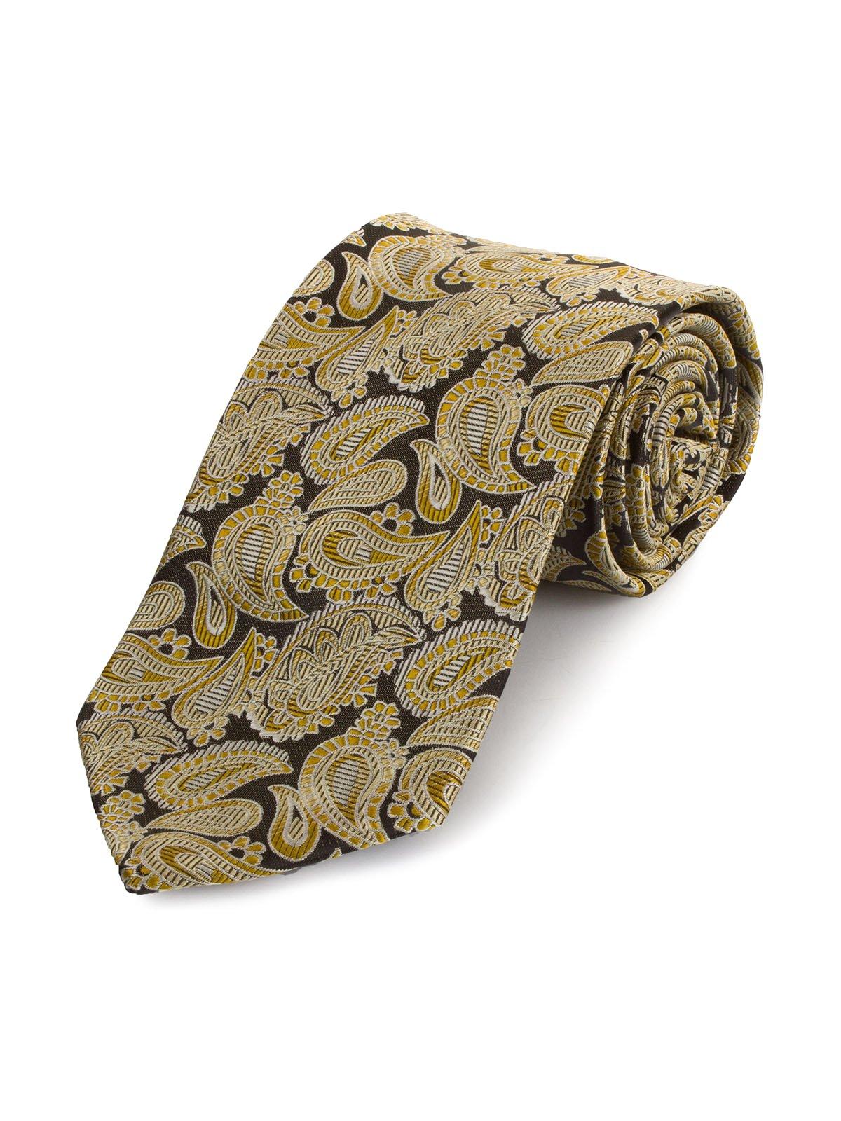 Краватка золотистого кольору   3914851