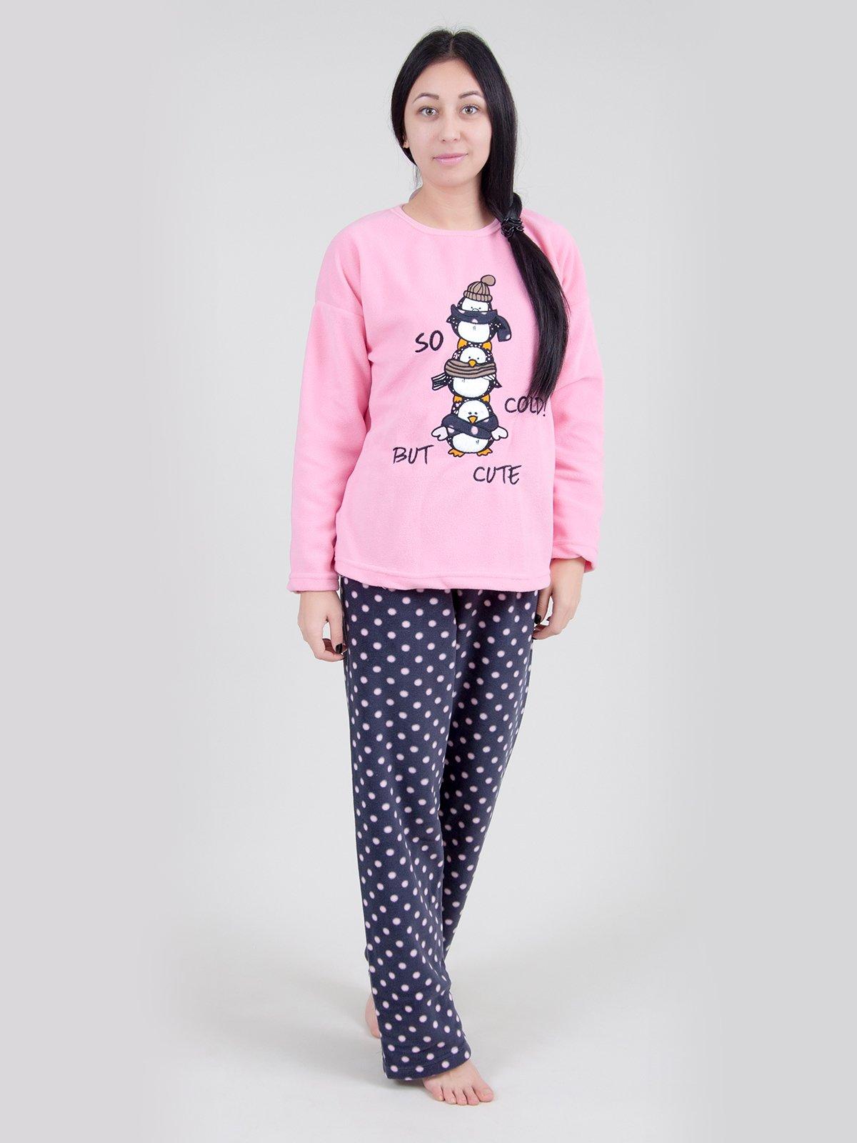 Пижама: джемпер и брюки   3871460