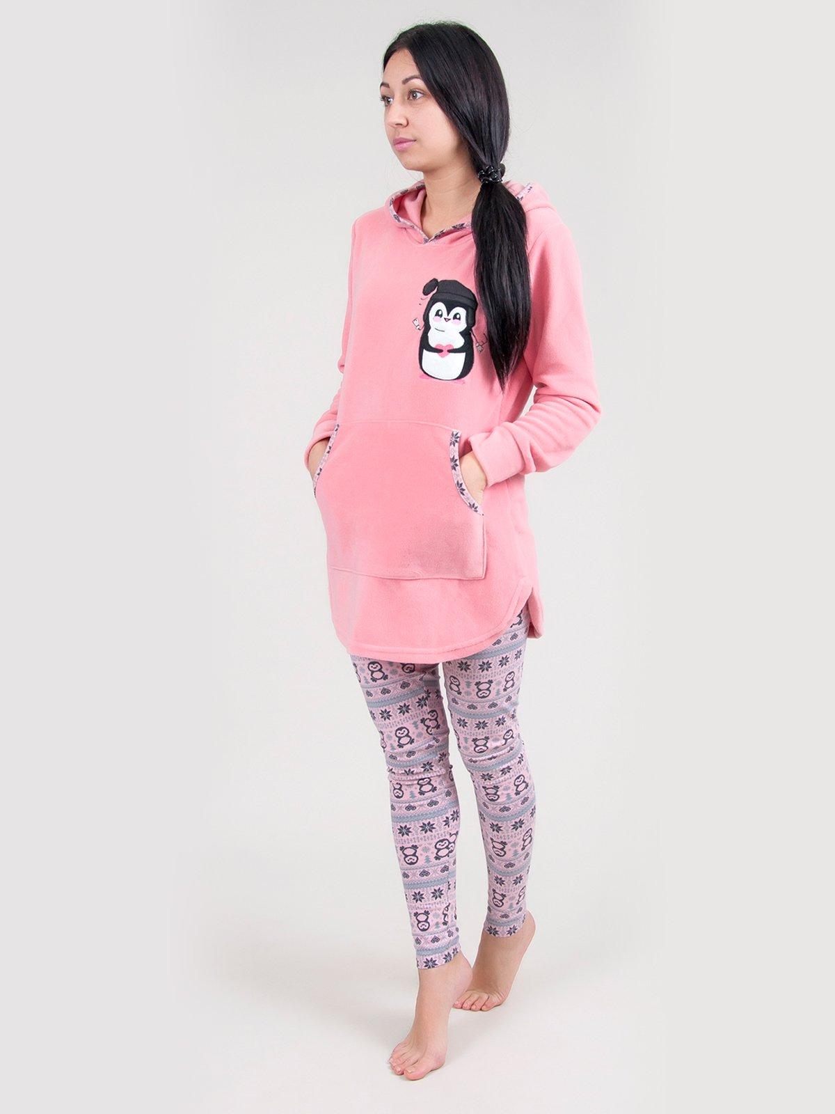 Пижама: туника и леггинсы | 3873477