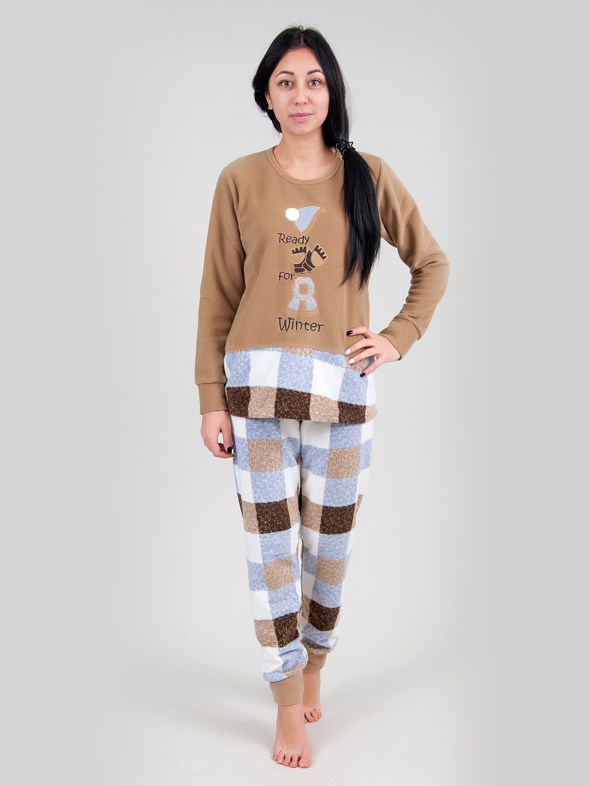 Пижама: джемпер и брюки   3873499