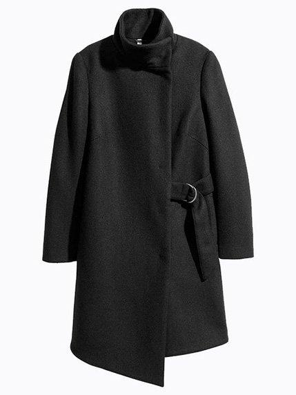 Пальто черное | 3921355 | фото 2