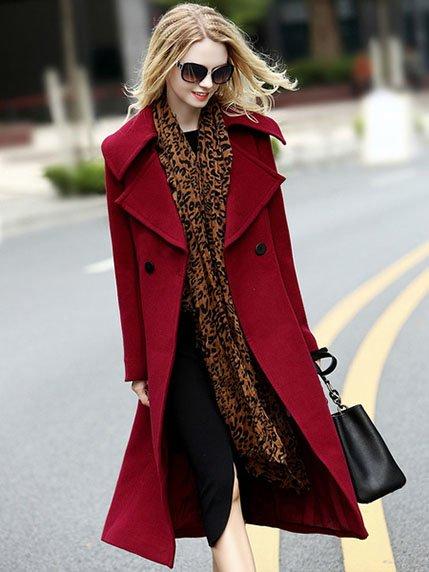 Пальто бордове | 3922739