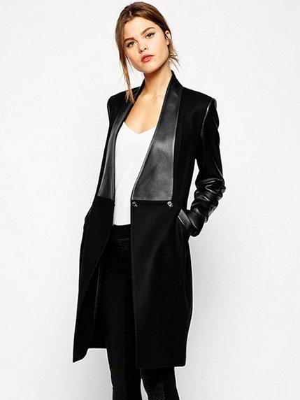 Пальто черное | 3923799