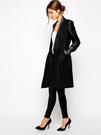 Пальто черное | 3923799 | фото 2