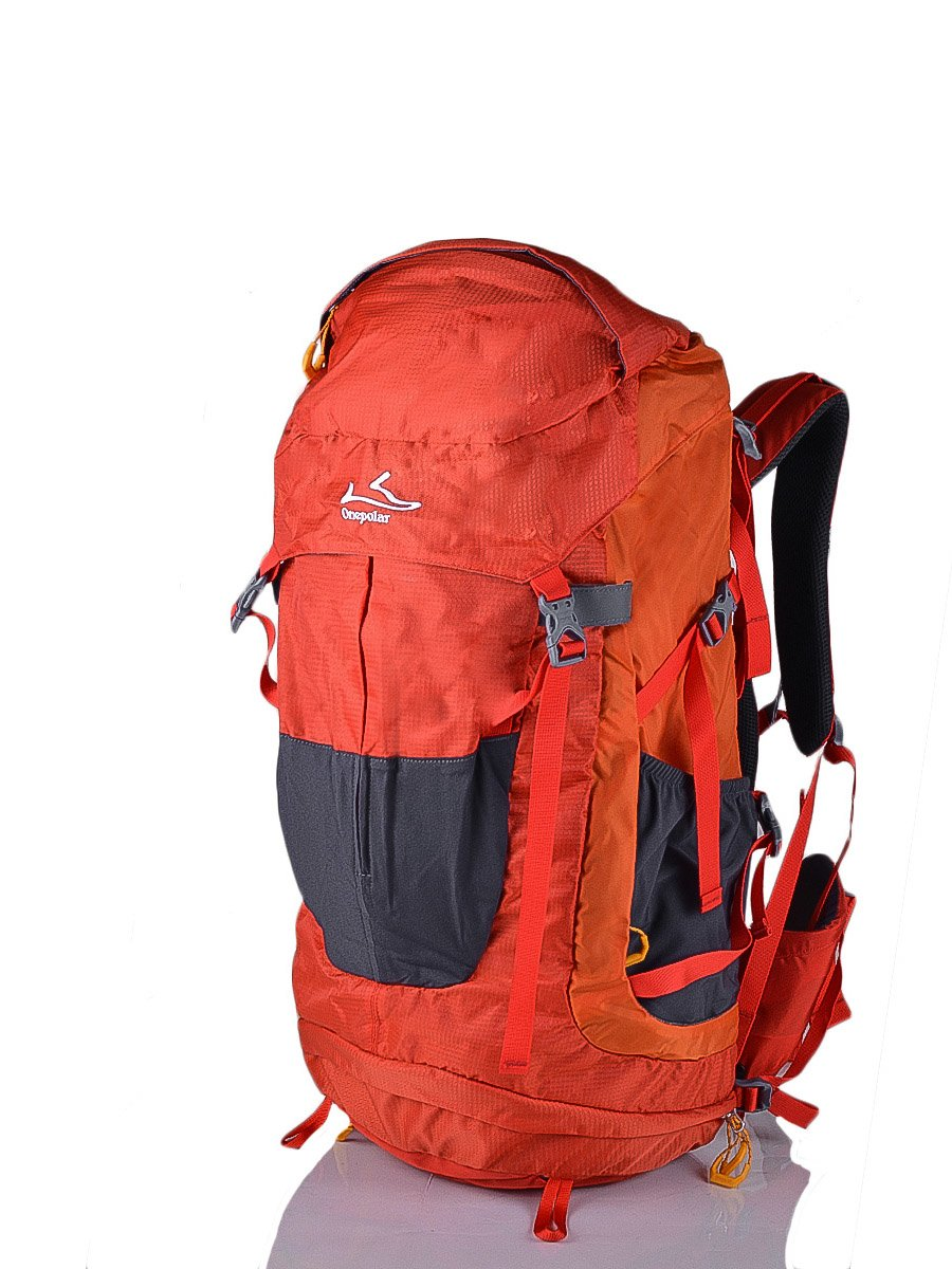 Рюкзак помаранчево-сірий   3924461