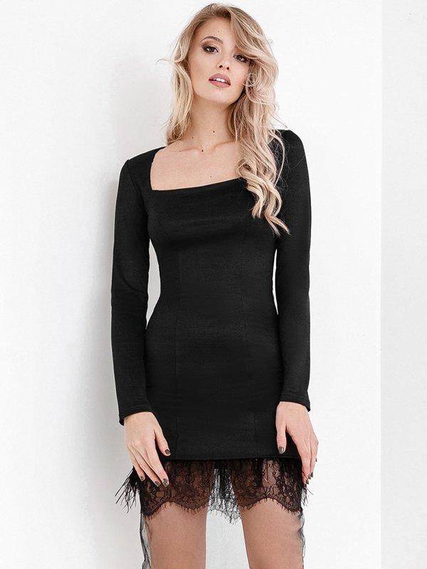 Платье черное   3882408