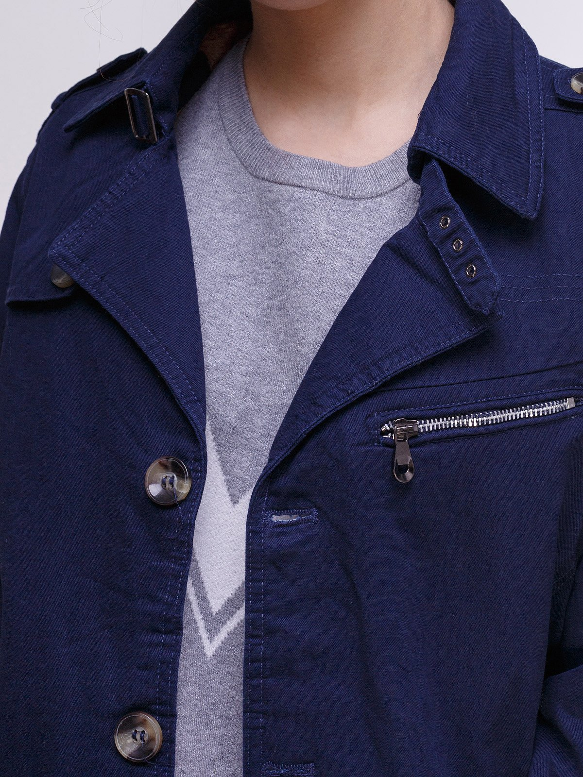 Куртка темно-синяя   3666661   фото 3