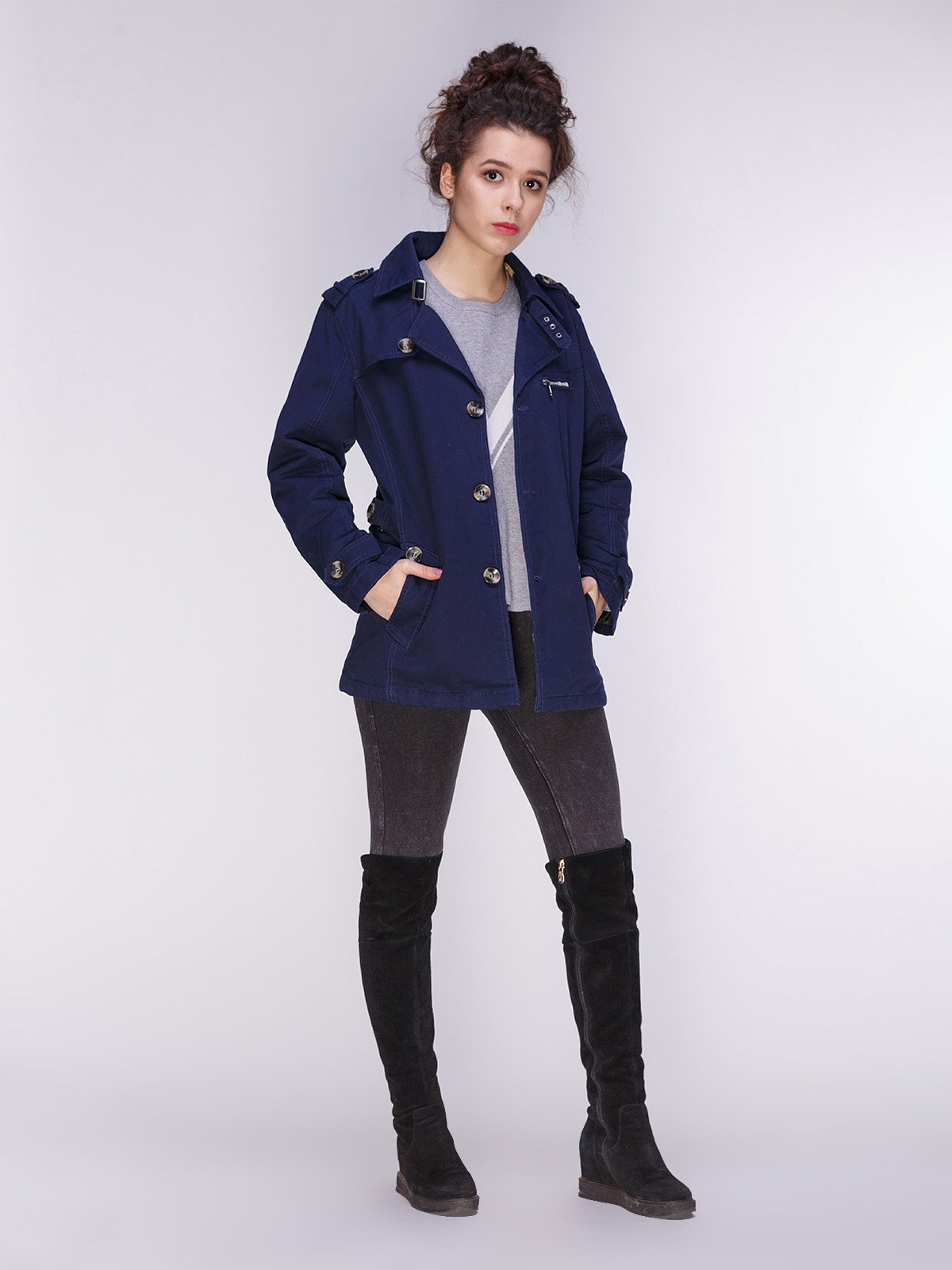 Куртка темно-синяя   3666661   фото 4