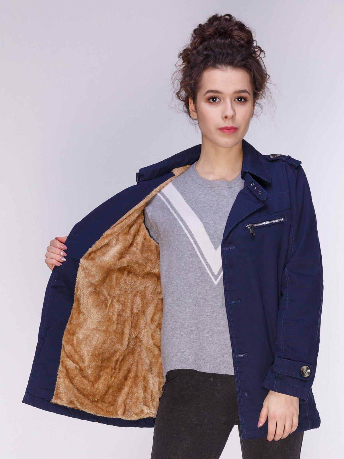 Куртка темно-синяя   3666661   фото 5