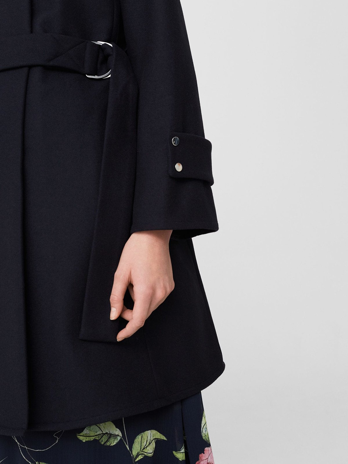 Пальто темно-синее | 3926091 | фото 4