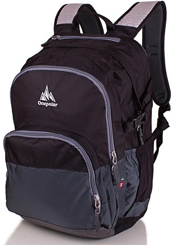 Рюкзак сіро-чорний | 3924586