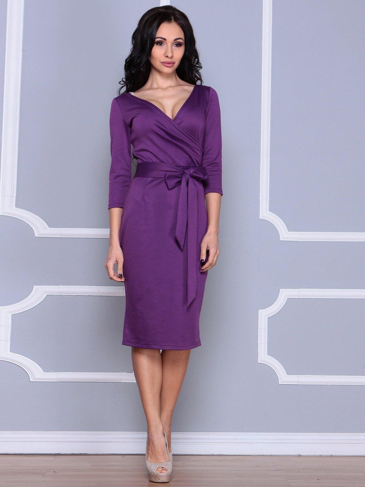 Платье темно-фиалковое | 3926402