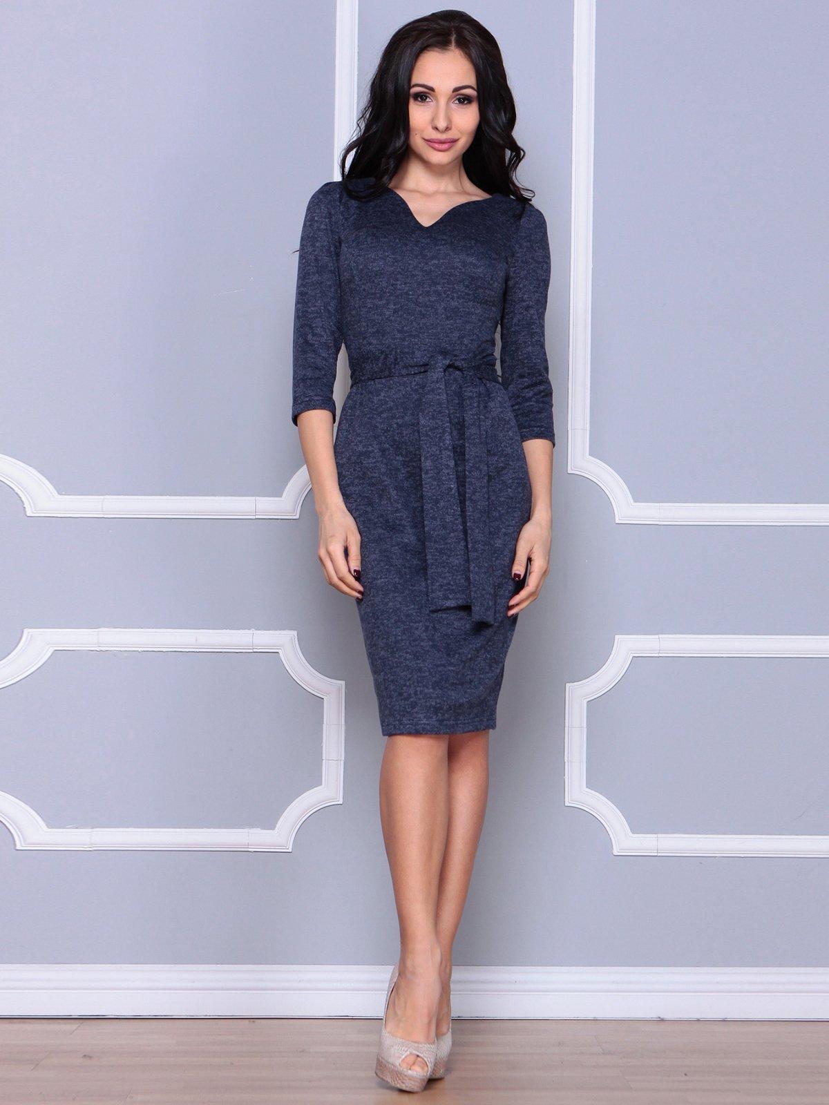 Сукня темно-синя | 3926407