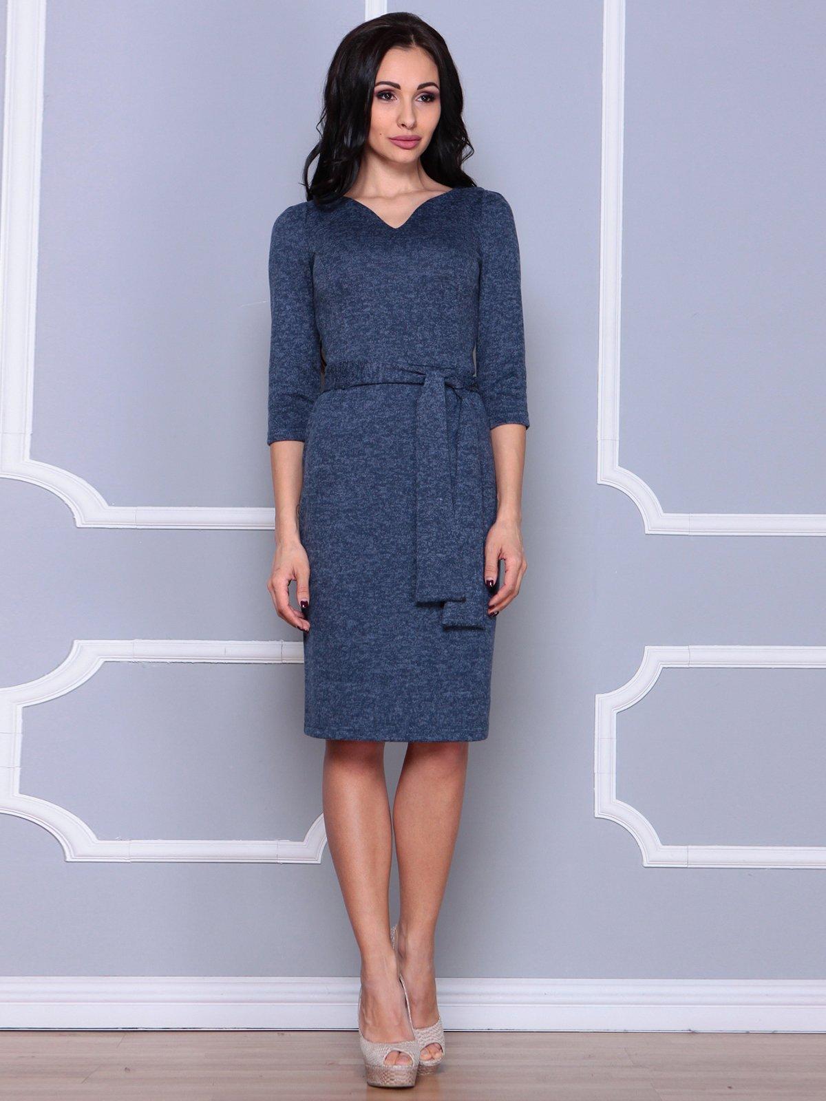 Платье темно-синее | 3926409