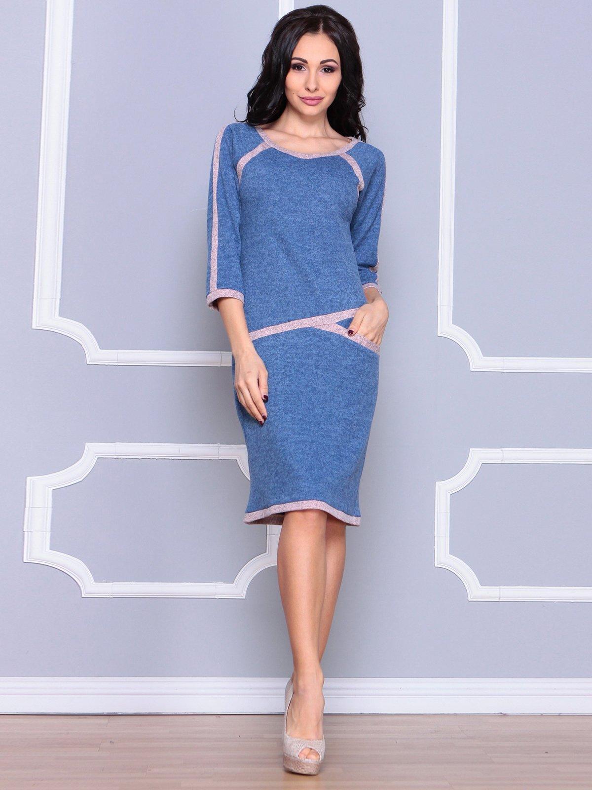Платье цвета светлый джинс   3926414