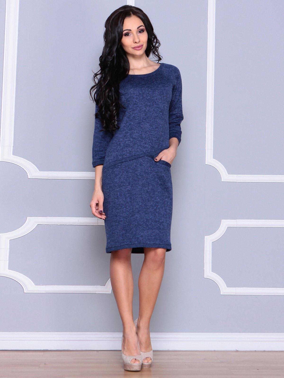 Платье синее | 3926415