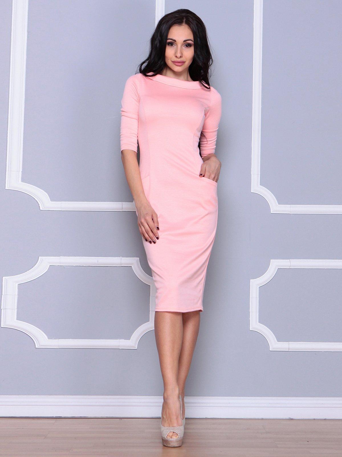 Платье персикового цвета   3926423