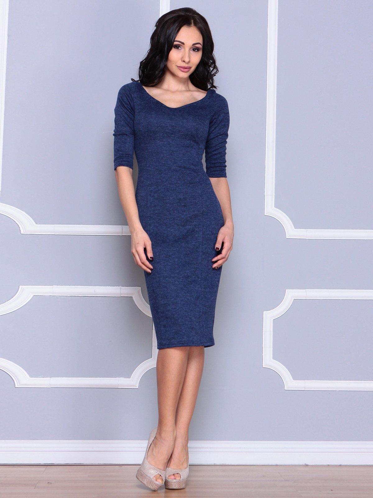 Платье синее | 3926431