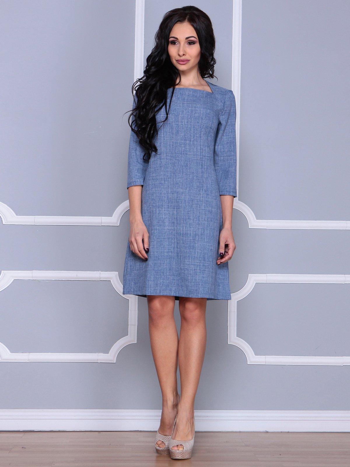 Платье цвета джинс | 3926436