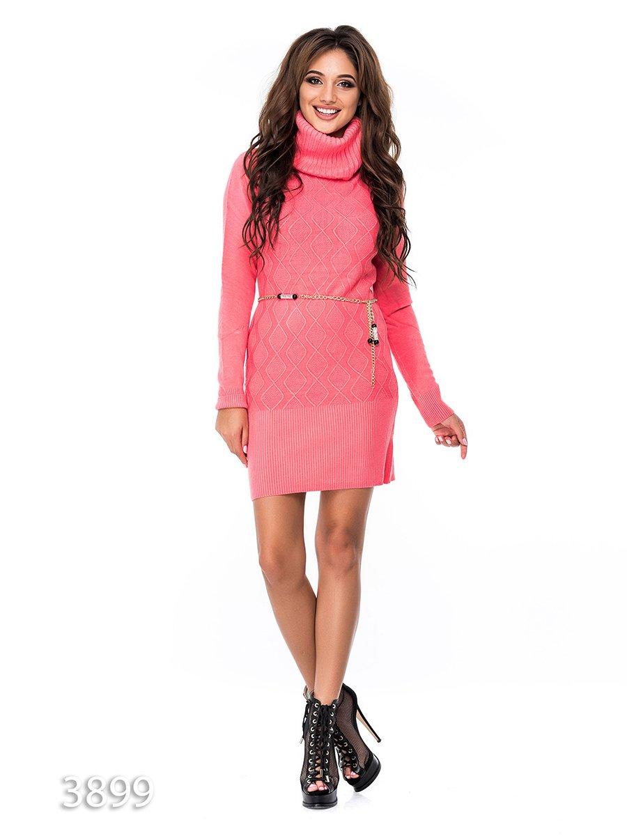Платье коралловое | 3688275
