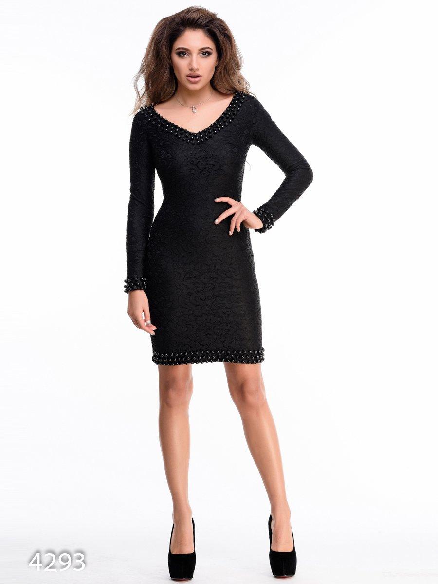 Платье черное | 3931672