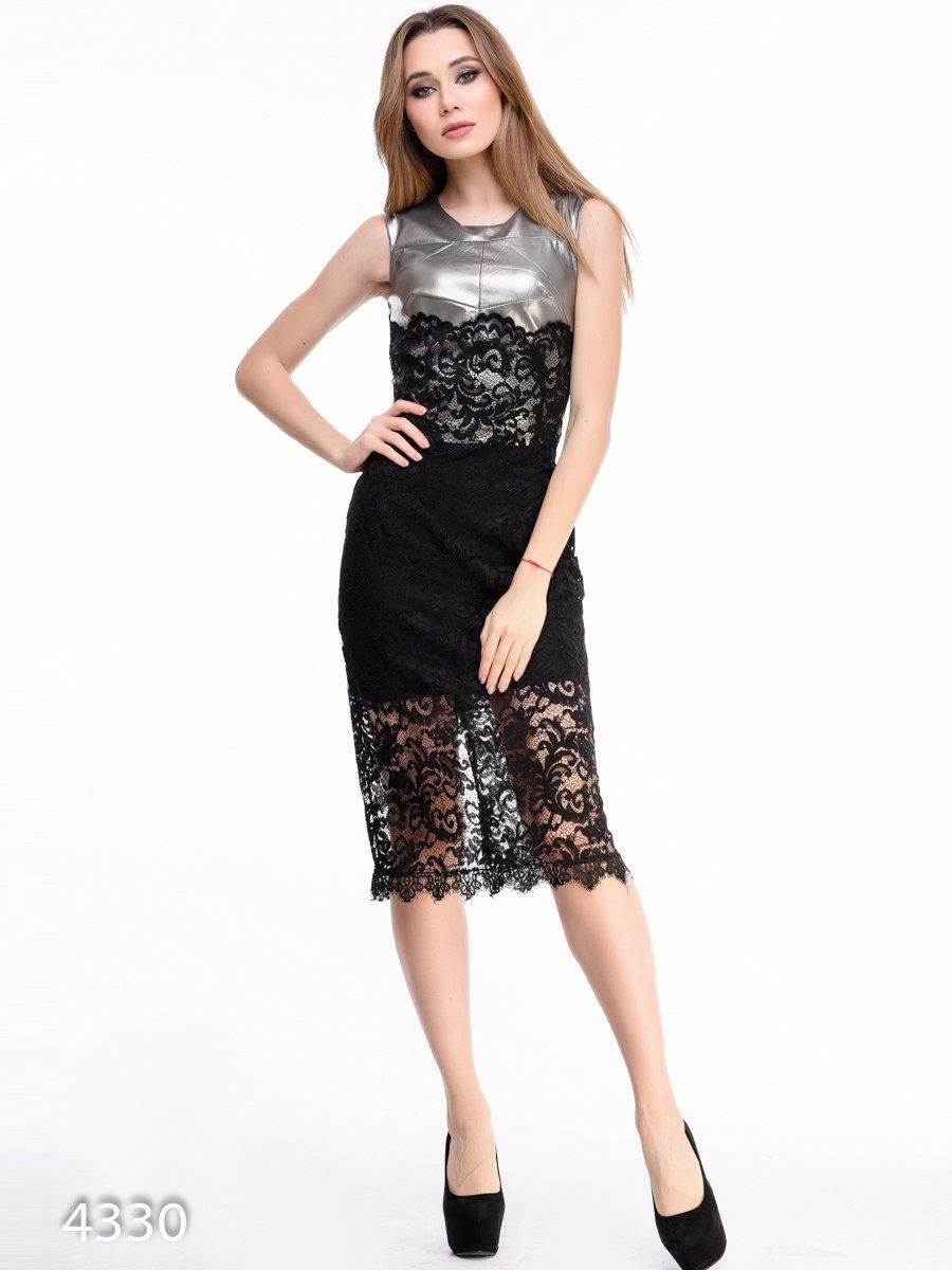 Платье черное | 3931679