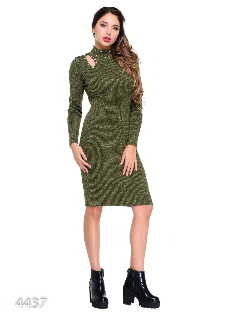 Платье зеленое | 3931703